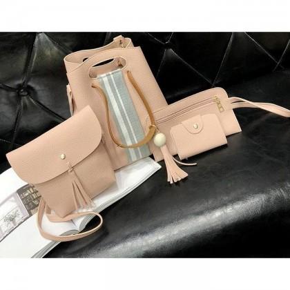 JOM KELLY Woman 4 in 1 Bucket Bag SET Handbag Sling bag