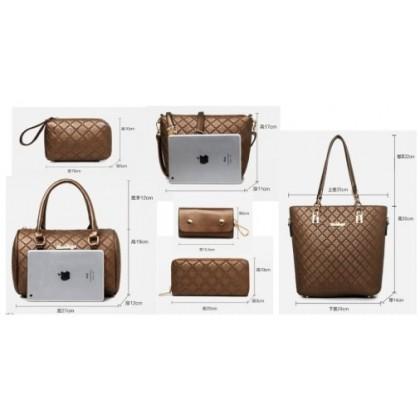 JOM KELLY Woman value 6 in 1 handbag/business bag