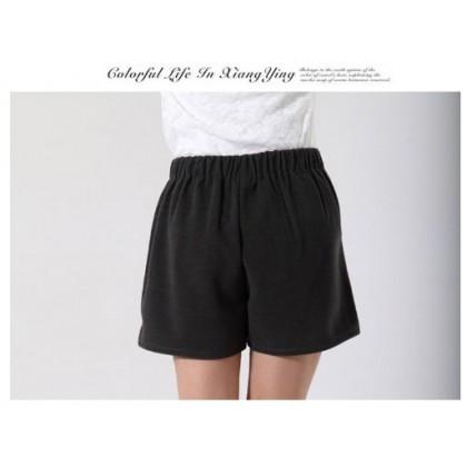 JOM KELLY Plus Size Large Size Korean High Waist Pants Shorts