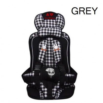 JOM KELLY Baby Car Cushion Seat Multifunction Adjustable Safety Belt