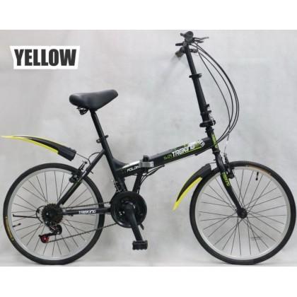 "JOM KELLY 20"" Teenager Adult Folding Bike Trekking Bike Bicycle"