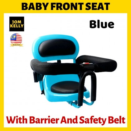 JOM KELLY Parent Child Bike Baby Front Seat With Barrier and Safety Belt