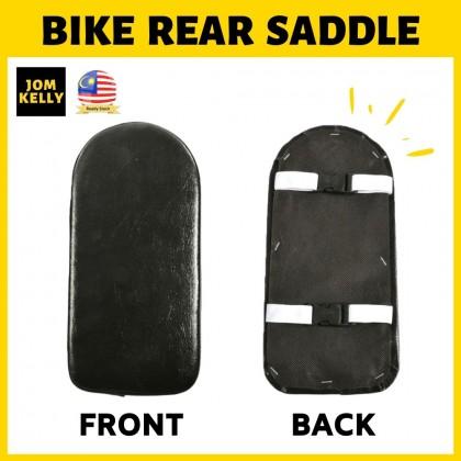 JOM KELLY Bicycle Rear Seat Cushion Seat Saddle Bike Backseat Black